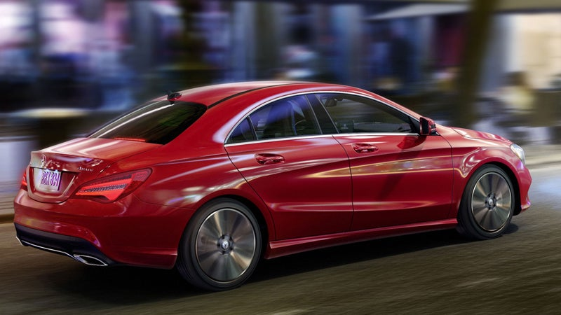 2018 mercedes benz cla in cary nc mercedes benz of cary. Black Bedroom Furniture Sets. Home Design Ideas