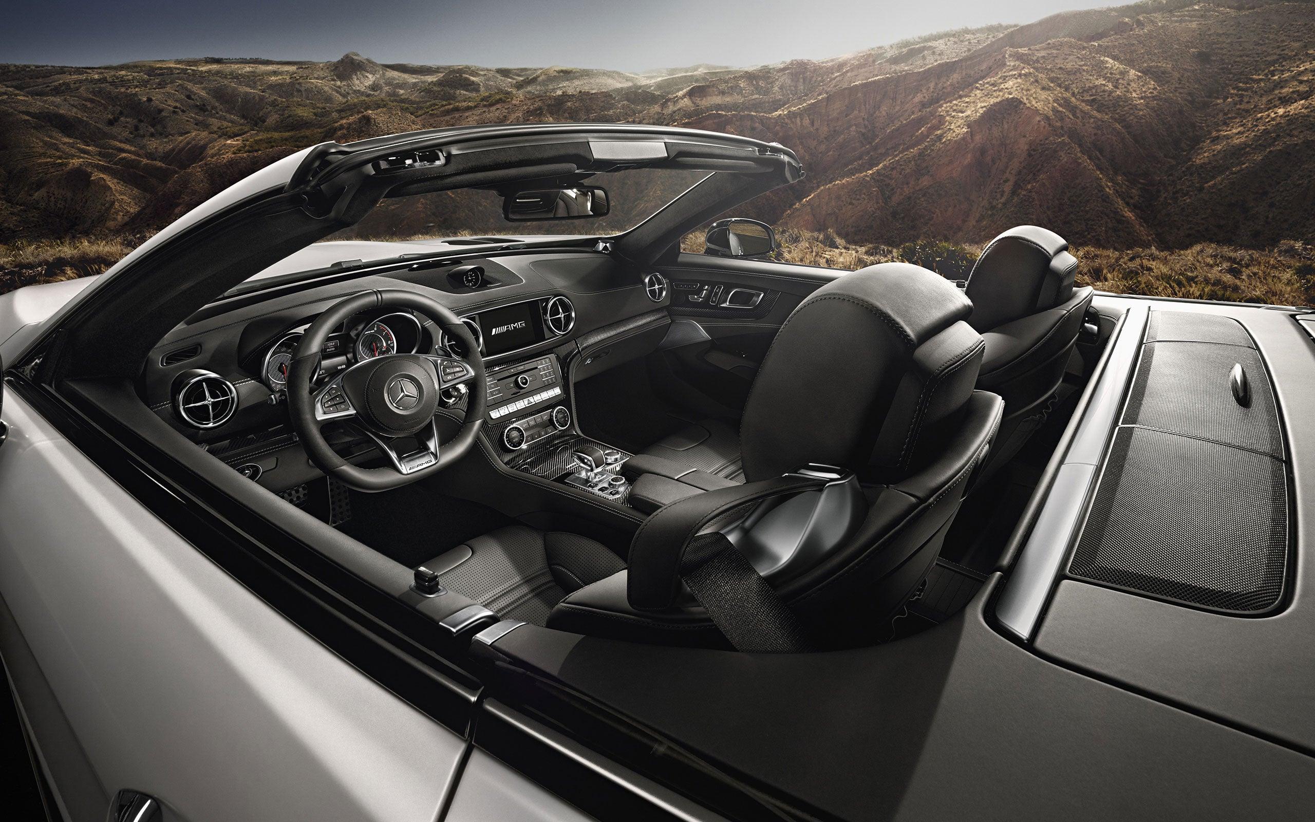 2018 Mercedes Benz SL Class Roadster